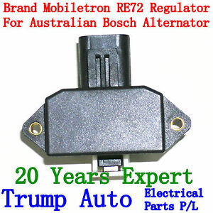 Voltage regulator RE72 for Bosch type Alternators Holden Mitsubishi Toyota