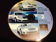 01 2002 2003 MERCEDES S430 S500 S55 S600 MERCEDES NAVIGATION CD 2 © 2011 UPDATE