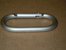 Beats by Dre Carabiner Belt Clip D-Ring Keychain Snap Hook Loop Hanger - Silver