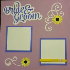 Wedding - Scrapbook Cut Outs Only - Purples