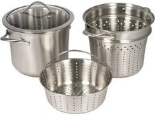 Calphalon Contemporary Stainless Steel Multi Pot New