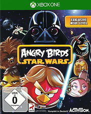 Angry Birds Star Wars (Microsoft Xbox One, 2013, DVD-Box) 1 A état, comme neuf!!!
