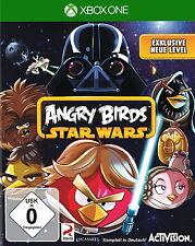 Angry Birds Star Wars (Microsoft Xbox One, 2013, DVD-box) 1a estado, como nuevo!!!