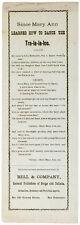 c. 1870 Lyric Sheet Music DANCE THE TRA-LA-LA-LOO