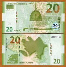 Azerbaijan, 20 Manat, 2005, P-28, UNC