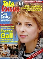 Mag 1993: FRANCE GALL_TOM CRUISE_STING_Line RENAUD_Peter FALK_Sylvester STALLONE