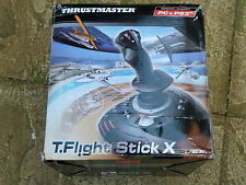 PLAYSTATION 3 PS3 & PC USB FLIGHT STICK x Thrustmaster Joystick Controller di gioco