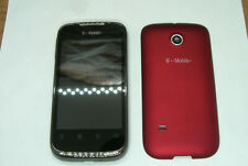 Huawei U8651T Prism T-Mobile Cell Phone Red EUC