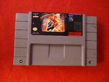 Last Action Hero (Super Nintendo SNES 1993) game WORKS!