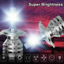 H4 9003 CSP LED Headlight Kit High/Low Beam 300000LM 6000K For Civic 96-03