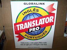 GLOBALINK POWER TRANSLATOR PRO PORTUGUES CD-ROM WINDOWS 95/NT- VINTAGE