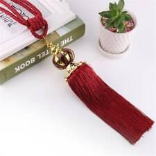 Curtain Tiebacks Tassel Holdbacks Tie Backs Binding Rope Beaded Ball Decor BA
