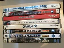 PC CD DVD Rom Collection with a Sports Theme - Football Manager, Cricket