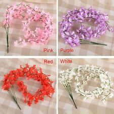 For Wedding Home Party Decor Artificial Flowers Ivy Vine Hanging Decoration