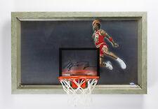 MICHAEL JORDAN Autographed 1988 Slam Dunk Acrylic Backboard Display UDA