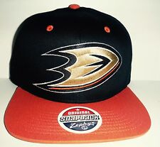 2fbf8dc6db5 Anaheim Mighty Ducks Snapback Hat NWT Authentic Cap