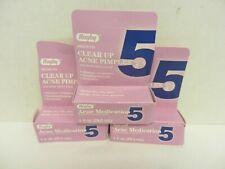 3 Rugby Acne Medication 5 Benqoyl Peroxide Lotion ~  00004000 1 Fl Oz Each ~ 4/19, 3/20