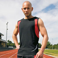 Spiro Sport S186X Athletic Vest Quick Dry Unisex Breathable Light Sports Wear