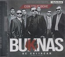 Buknas De Culiacan Con Tololoche  CD NEW NUEVO SEALED