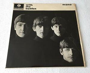 BEATLES~WITH THE BEATLES~1963 UK MONO VINYL LP [BELLINDA CREDIT / KT TAX CODE]
