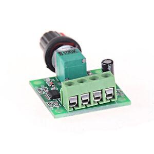 Dc 1.8V 3V 5V 6V 12V 2A Low Voltage Motor Speed Controller Pwm 1803BR*jg