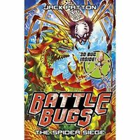 The Spider Siege (Battle Bugs), Patton, Jack, Very Good Book