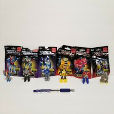 Transformers In Disguise Mini Figures New Lot Of 6 Complete Set Limited Edition