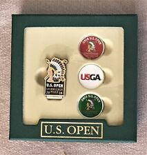 Official 2018 US OPEN Golf Shinnecock Hills Boxed Set  Hat Clip + 3 Ball Markers