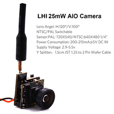 W55 FPV AIO Camera Tiny Whoop 5.8GHz 40CH 25mW Transmitter Micro Drone Quad (GBP