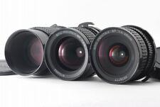 【NEAR MINT 3Lens】SMC Pentax 67 45mm f/4 ,75mm f/4.5 , 200mm Set From JAPAN