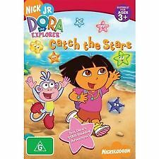 DORA THE EXPLORER: CATCH THE STARS - BRAND NEW & SEALED R4 DVD (NICKELODEON)