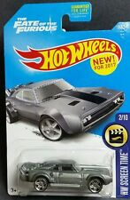 Hot Wheels - 2017 - Fash & Furious 2/10- ice charger  -New