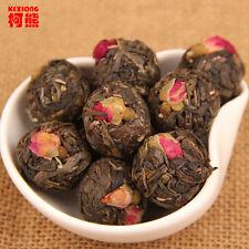 Rose herbal tea 500g Chinese handmade puer tea raw Pu er old trees pu'er cha min