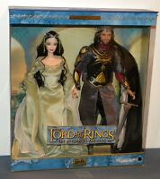 Barbie & Ken as Arwen & Aragorn in Lord of the Rings Giftset NRFB 2003 #B3449