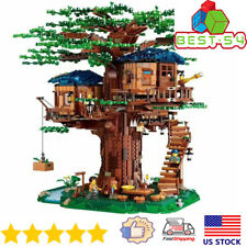 Building Blocks Ideas 21318 Sets Large Tree House Bricks Model Diy Toys for Kids