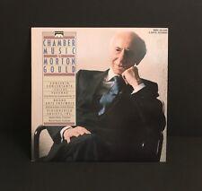 Chamber Music Morton Gould Concerto Concertante / 'Cellos / Pavanne LP
