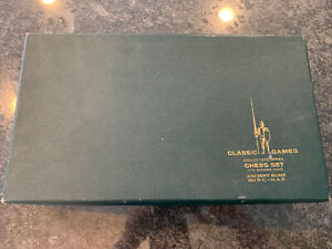Classic Games Collector's Series Chess Set Edition 1 Ancient Rome 264 BC -14 AD