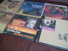 NAT KING COLE THE KING OF SOUND COLLECTION WITH 6 AUDIOPHILE TITLES & BONUS CDS