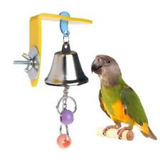 Parrot Toys Bell Birds Hanging Chewing Cage Bite Accessories Parakeet Beads Play