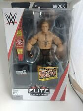 WWE elite 55 Brock lesnar