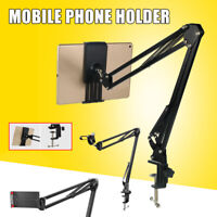 Universal Cellphone Tablet Phone Holder Mount Stand 360° Rotating Lazy Bracket