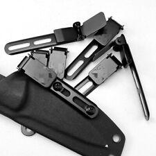 Taschenclip Universal Knife Scabbard Taillenzubehör Schwarze Klemme für Kydex