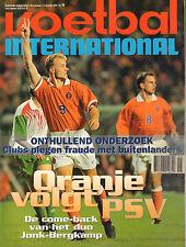 V.I. 1996 nr. 46 - BERGKAMP & NEDERLAND-WALES/VAN DER SAR/EDWIN GODEE