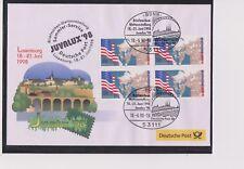 BRD-1998-Briefm.-Ausst.-Beleg-JUVALUX´98-Weltausst.LUXEMBURG-18.-21.6.98-Mi:1926
