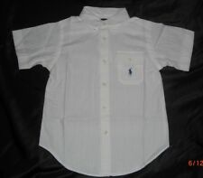 Boys Designer Clothing Cream Ralph Lauren Shirt 6 years BRAND NEW present idea