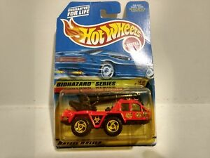 Hot Wheels Biohazard Series Flame Stopper Mattel 1:64 Scale Diecast mb707
