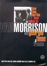 Van Morrison 1996 How Long Going On Promo Poster Original