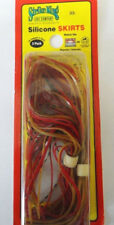 """Strike King Spinnerbait Skirts - 4.5"""" - Red Shad"""