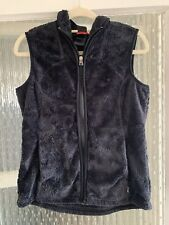 THE NORTH FACE WOMENS BLACK TEDDY BEAR SOFT GILET IN SMALL