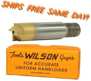 CTP-TNC  L.E. Wilson Titanium Nitride Coated Cutter for .22 to .45 Caliber NEW!